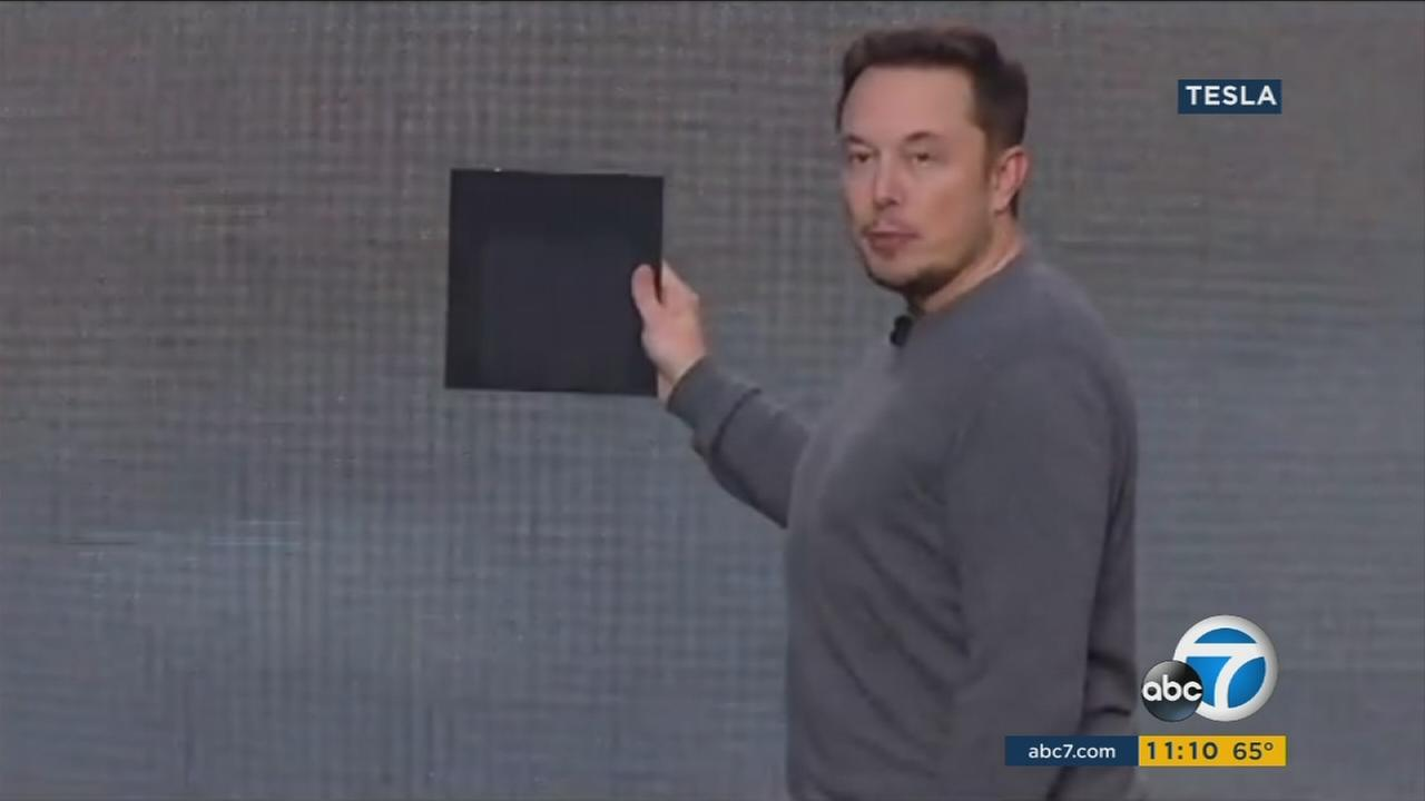 Entrepreneur Elon Musk showcased a traditional home of the future, featuring the latest technological innovations.