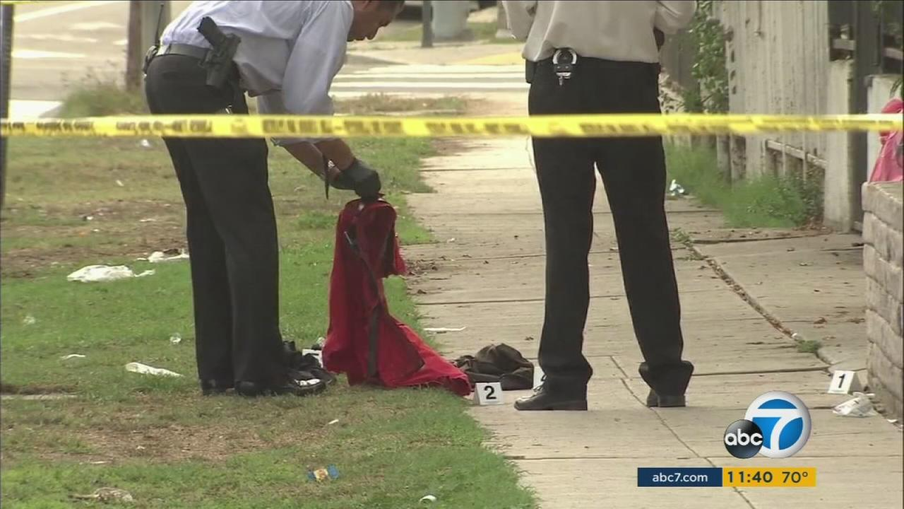 Authorities were on high alert Saturday, Oct. 29, 2016, as a series of shootings suspected to be between rival gangs has left one person dead and two others in grave condition.