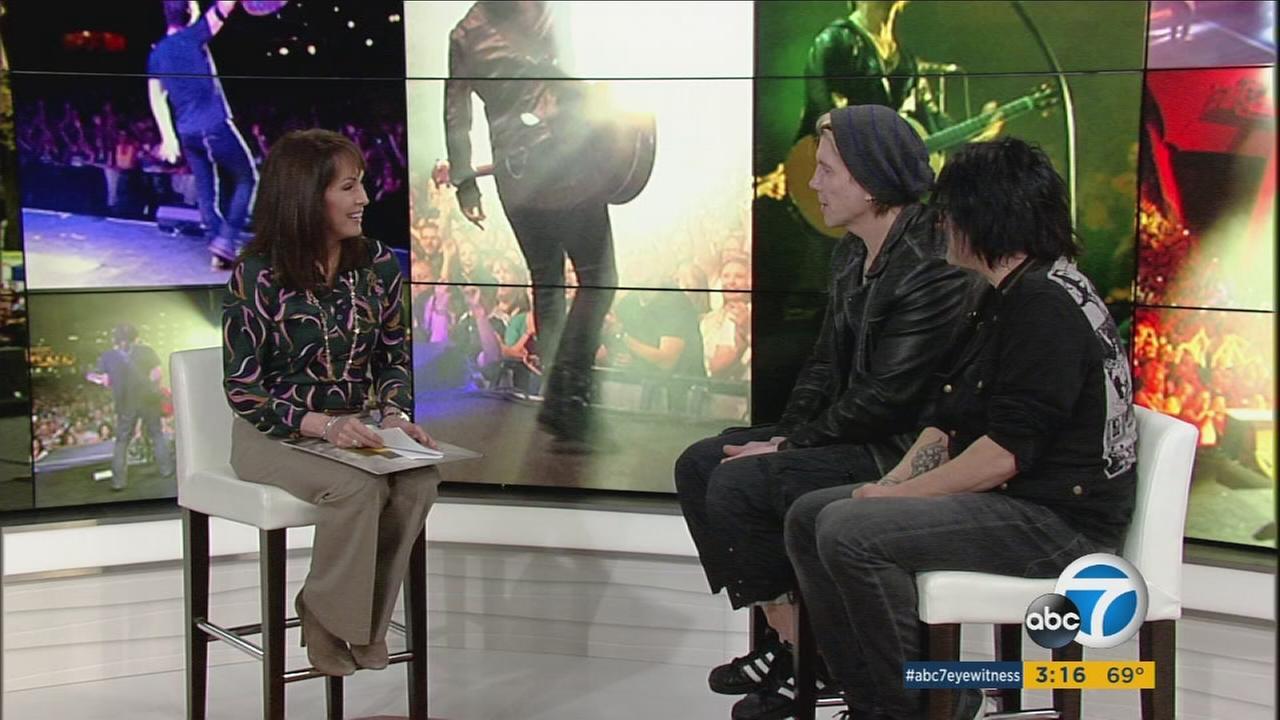 The Goo Goo Dolls discussed their storied career with ABC7s Ellen Leyva.