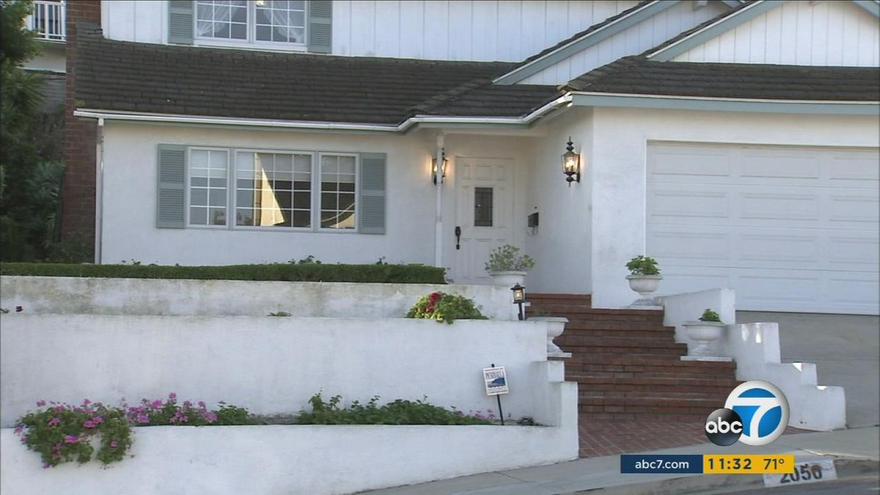 A senior citizen in Rancho Palos Verdes was tied up by two suspects who broke into his home, sheriffs officials said.
