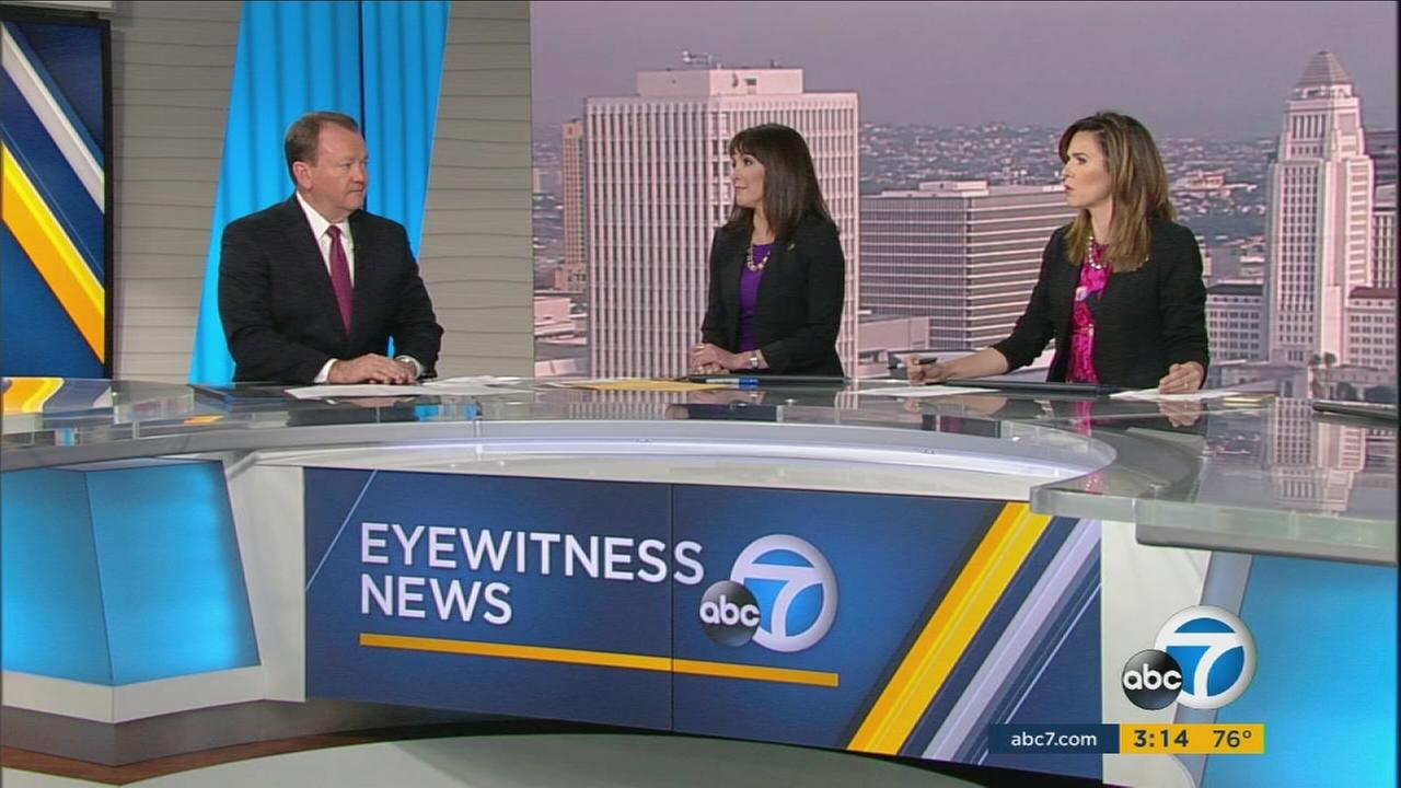 Los Angeles County Sheriff Jim McDonnell talks about his departments role on Election Day with ABC7.
