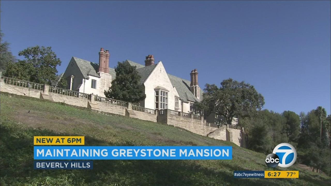 Greystone Mansion is fundraising as it looks to restore the historic architecture of the Beverly Hills park.