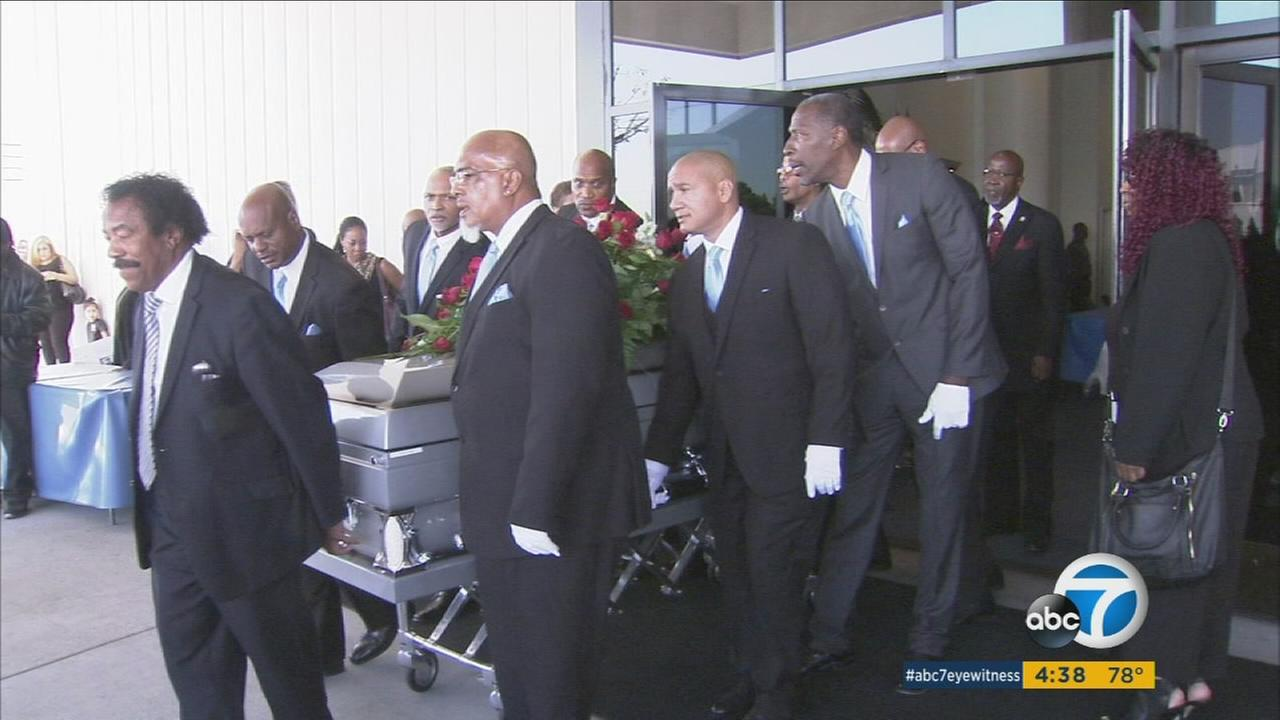 E.J. Jackson, a man who spent more than three decades helping to feed families in need, was laid to rest Monday, Nov. 14, 2016.