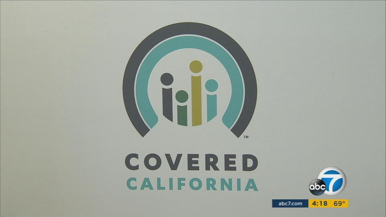 A Covered California sign is shown as concerns for the health care act grow after Donald Trump won the election.