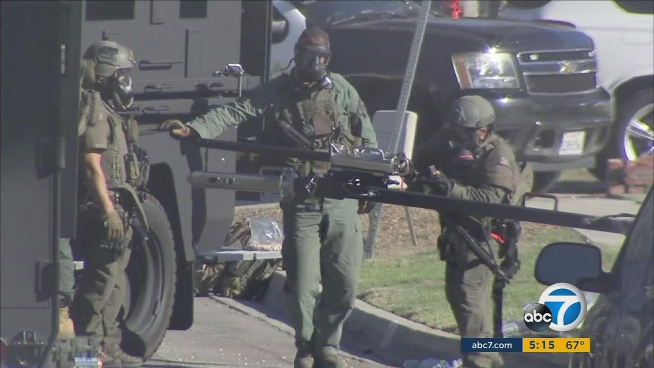 The Los Angeles County Sheriffs Department said its mental health training paid off during a standoff in Pico Rivera.
