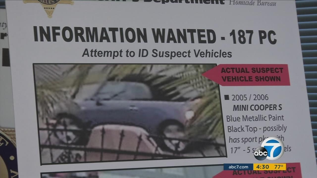 Authorities released a photo of a MINI Cooper suspected to be involved in a shooting that left a man dead in May.