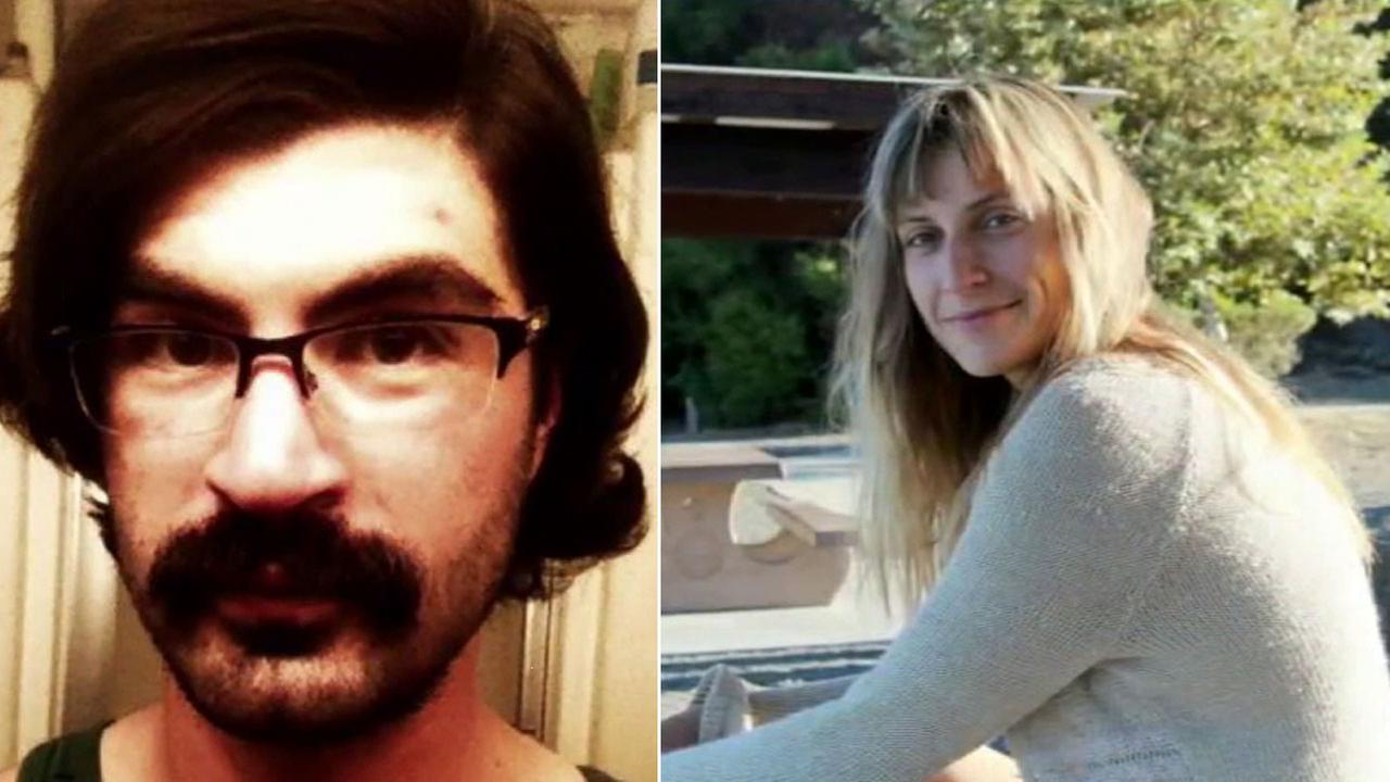 Aaron Morganstein, 33, is shown in an undated photo alongside another undated photo of Mariya Mitkova, 27.