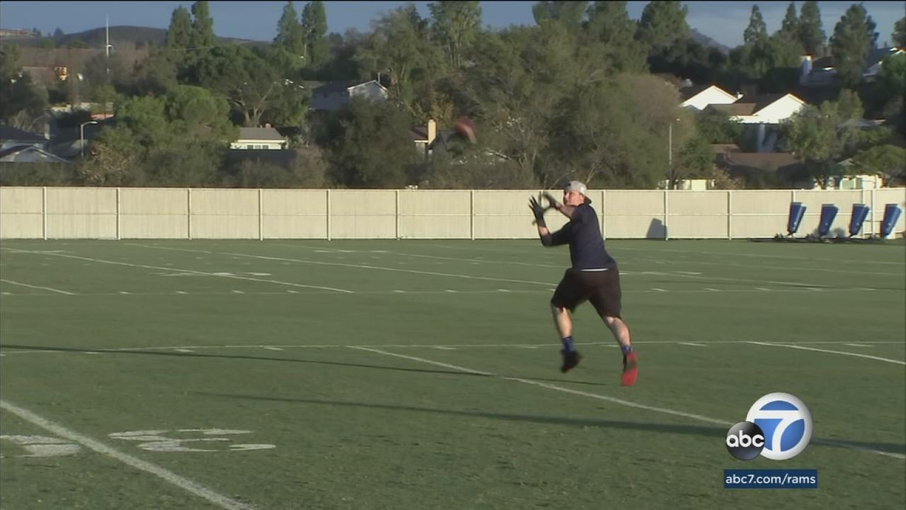 Youve seen Joc Pederson hit the ball out of Dodger Stadium, but have you seen him on the gridiron?