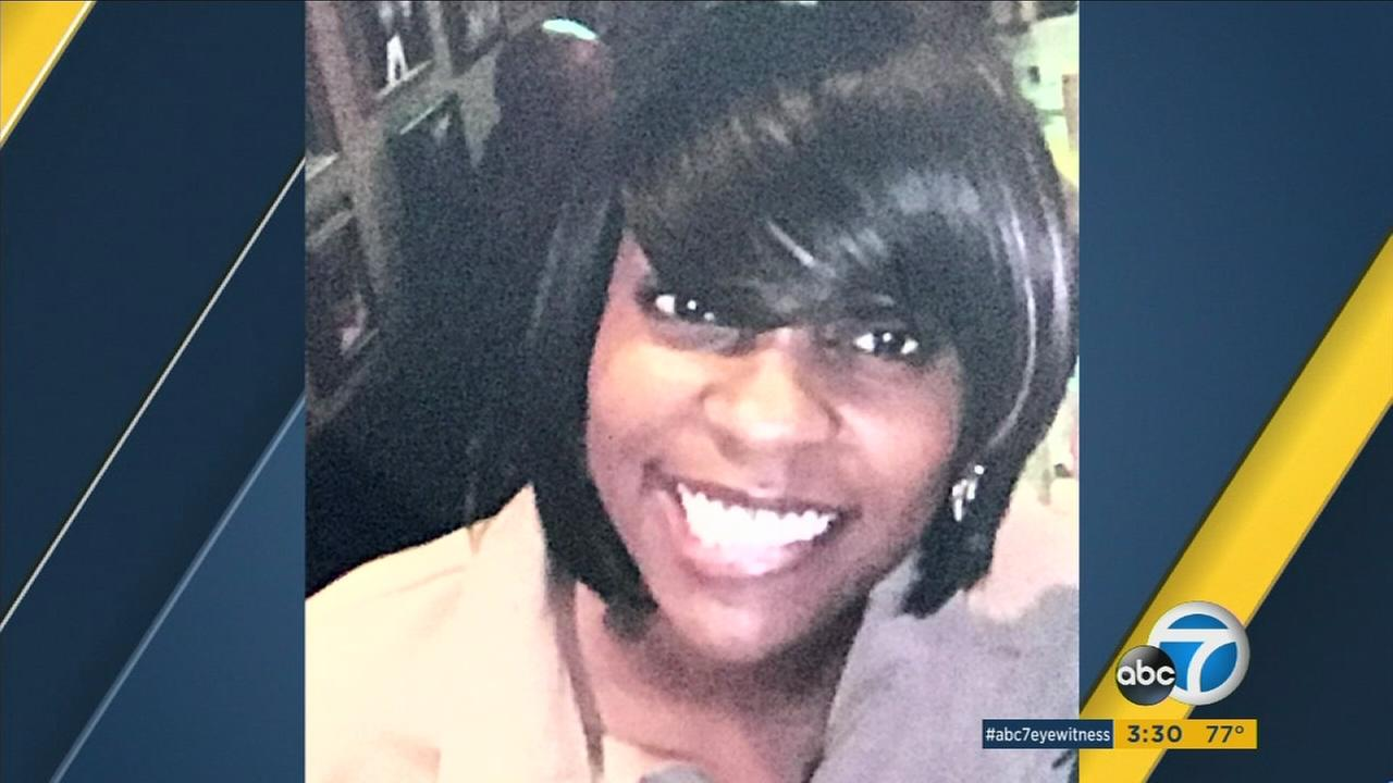 Amber Johnson, 33, is shown in an undated photo.