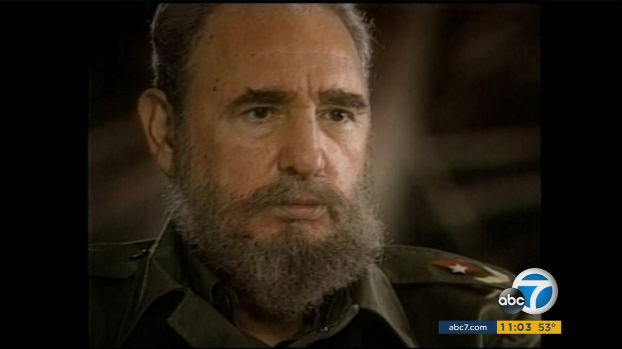 An undated photo of Cubas Fidel Castro, who died on Friday, Nov. 25, 2016.