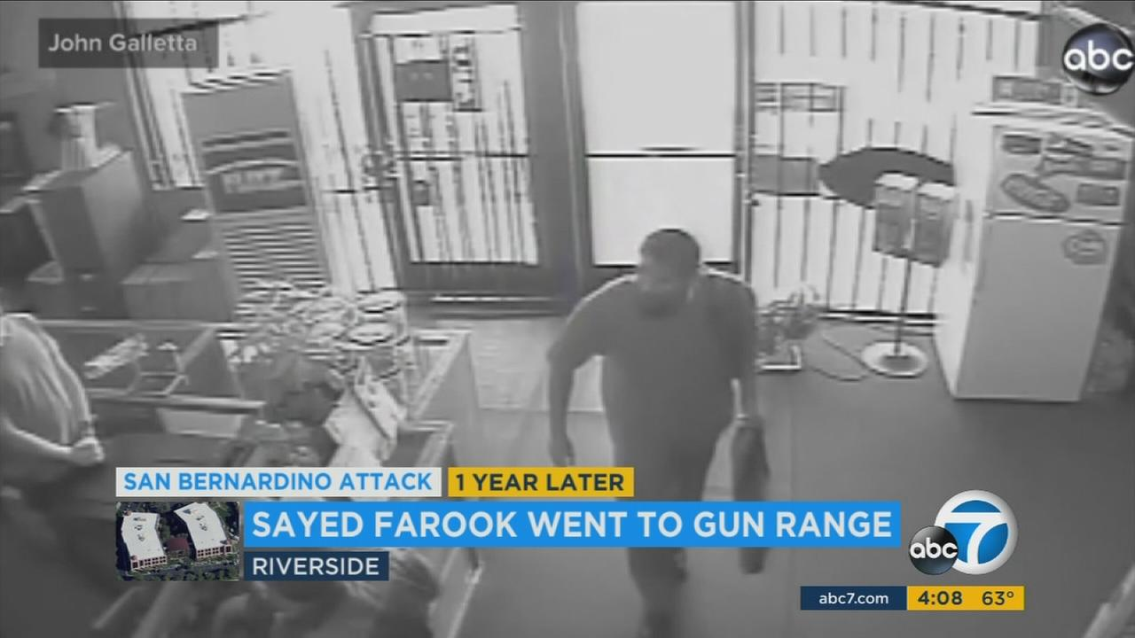 The Riverside gun range where San Bernardino gunman Syed Farook practiced at said he displayed no warning signs of a potential attack.