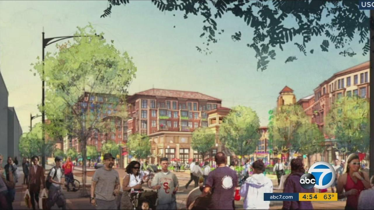 The USC Village is set to open fall of 2017 with the promise of hundreds of new jobs for the large housing, retail and college space.