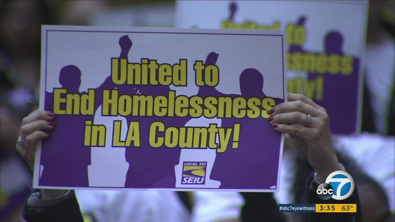 Following public pressure, the Los Angeles County Board of Supervisors unanimously approved the placement of a homelessness funding measure in the March 2017 ballot.