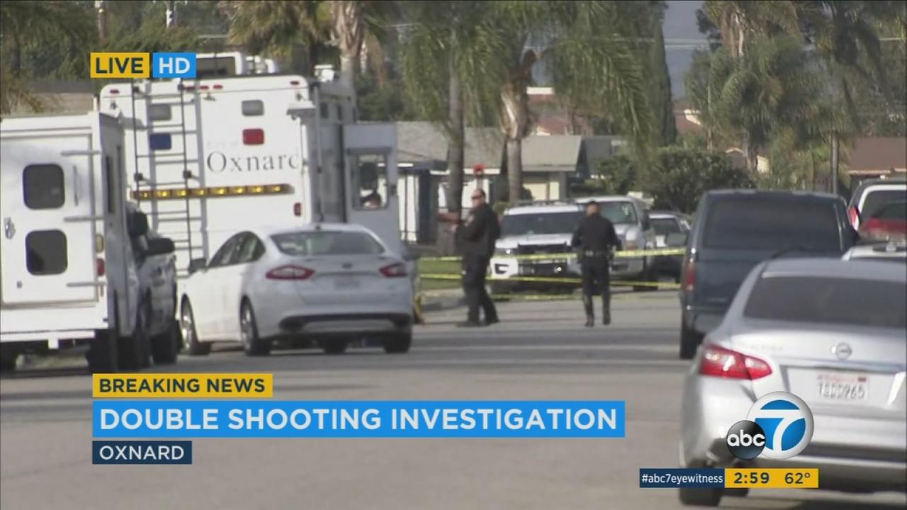 One person was killed and another was critically wounded in a shooting in Oxnard Wednesday and police say the 911 caller who reported the incident identified himself as the shooter.