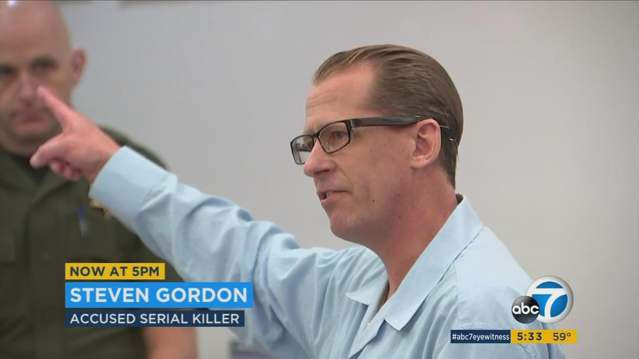 Accused Orange County serial killer Steven Gordon is looking to blame his alleged accomplice for the deaths of four prostitutes.