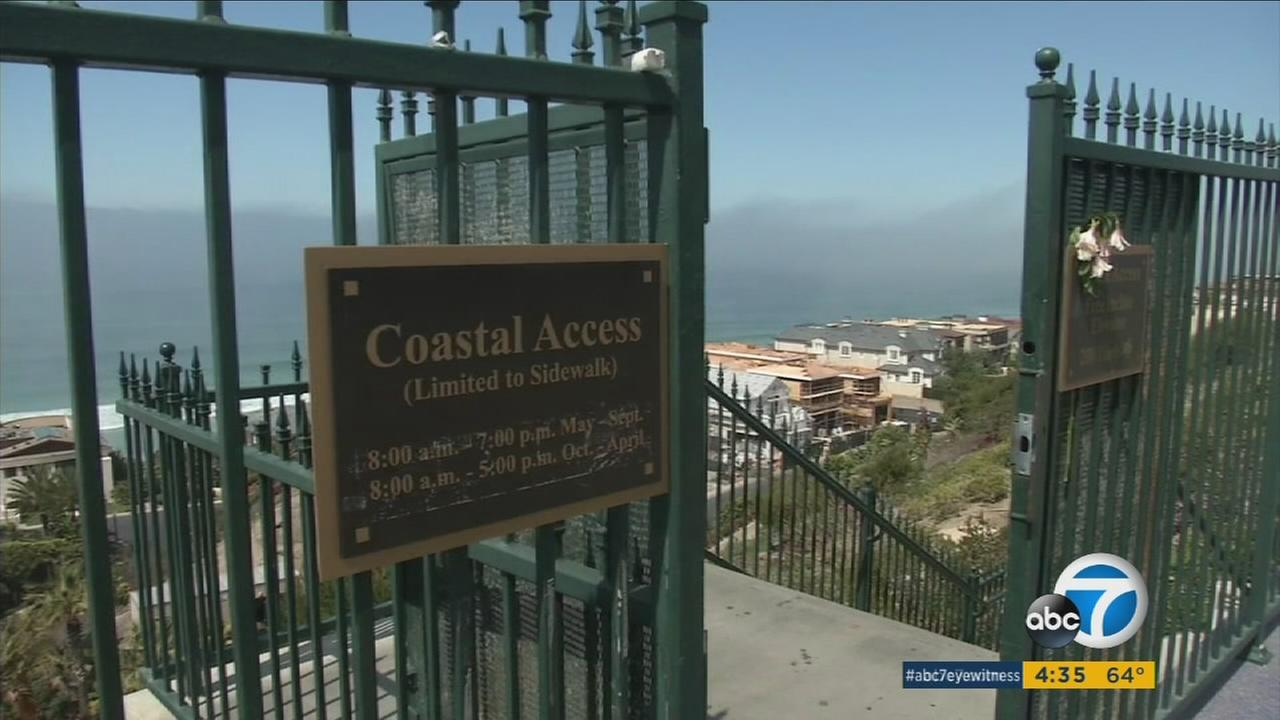 Following a sex-year legal battle, gates preventing public access to Strand Beach in Dana Point have been taken down.