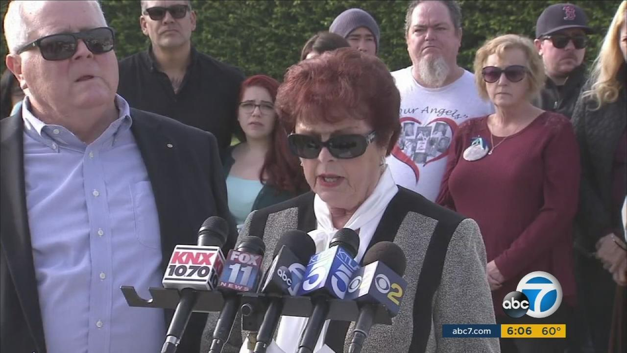Hattie Stretz, 77, the lone survivor of a Seal Beach salon massacre, speaks out about closure in the case on Saturday, Dec. 10, 2016.