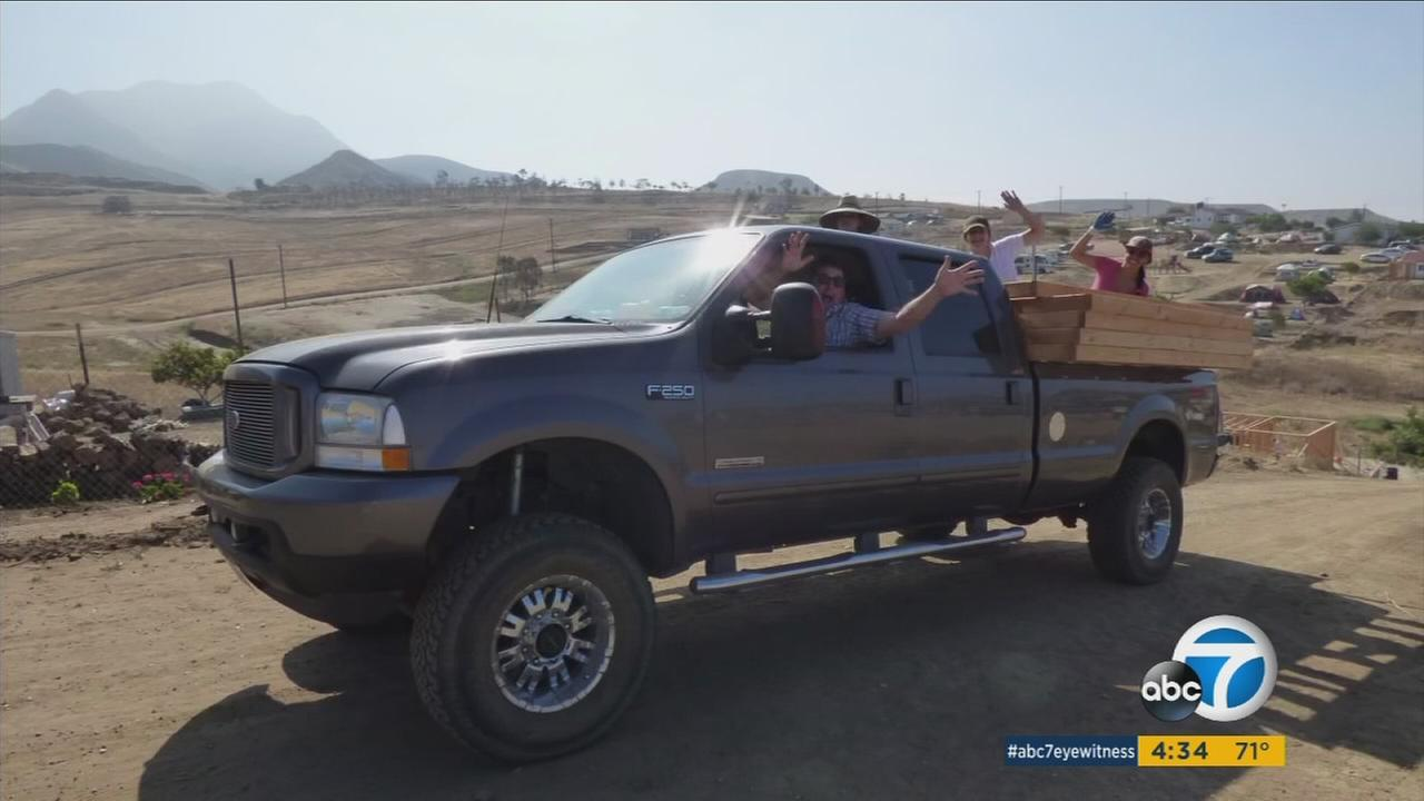 A Fullerton man woke up on his 60th birthday to find his Ford F-250 truck had been stolen.