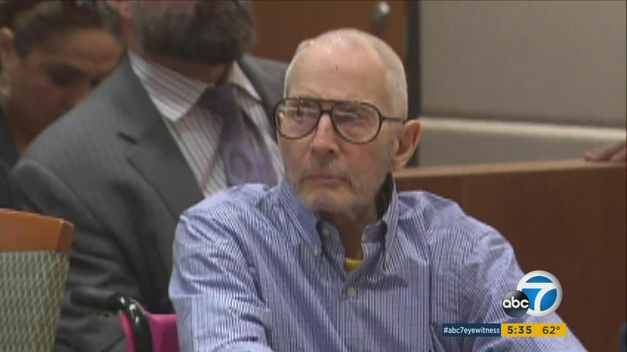 Rober Durst seen in court on Wednesday, Dec. 21, 2016.
