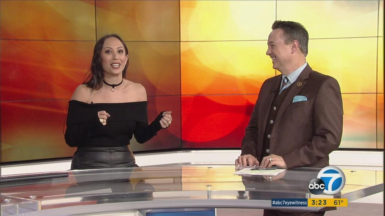 Cheryl Burke from Dancing with the Stars is taking on a new role for Christmas: Co-host of the 57th annual Los Angeles County Holiday Celebration on Christmas Eve.