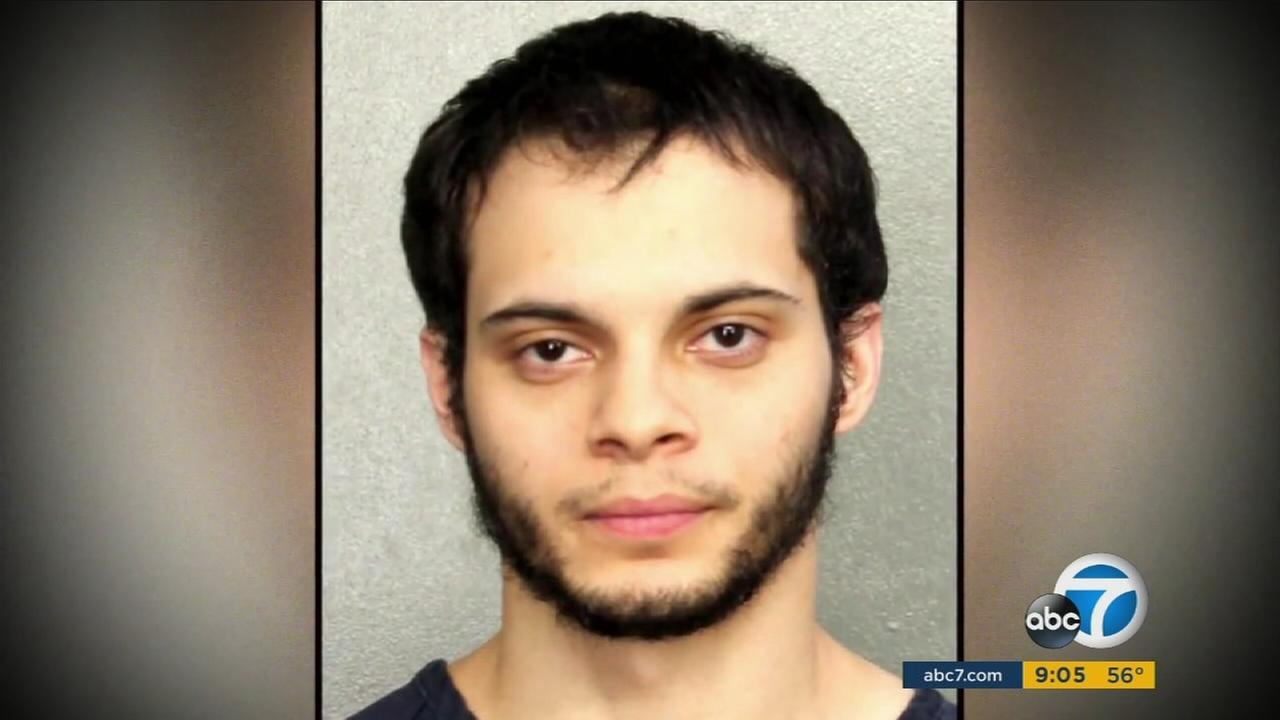 A mugshot photo of 26-year-old Esteban Santiago, which was provided by the Broward County Sheriffs Office Saturday, Nov. 7, 2017.