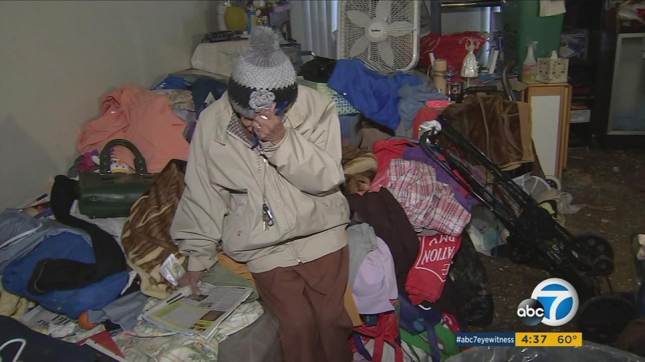 An elderly woman in public housing is living in deplorable conditions that include mold, roaches and broken plumbing and neighbors are hoping to get her some help.