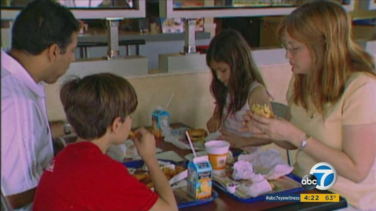 A new study suggests kids menus may not be offering enough healthy options.
