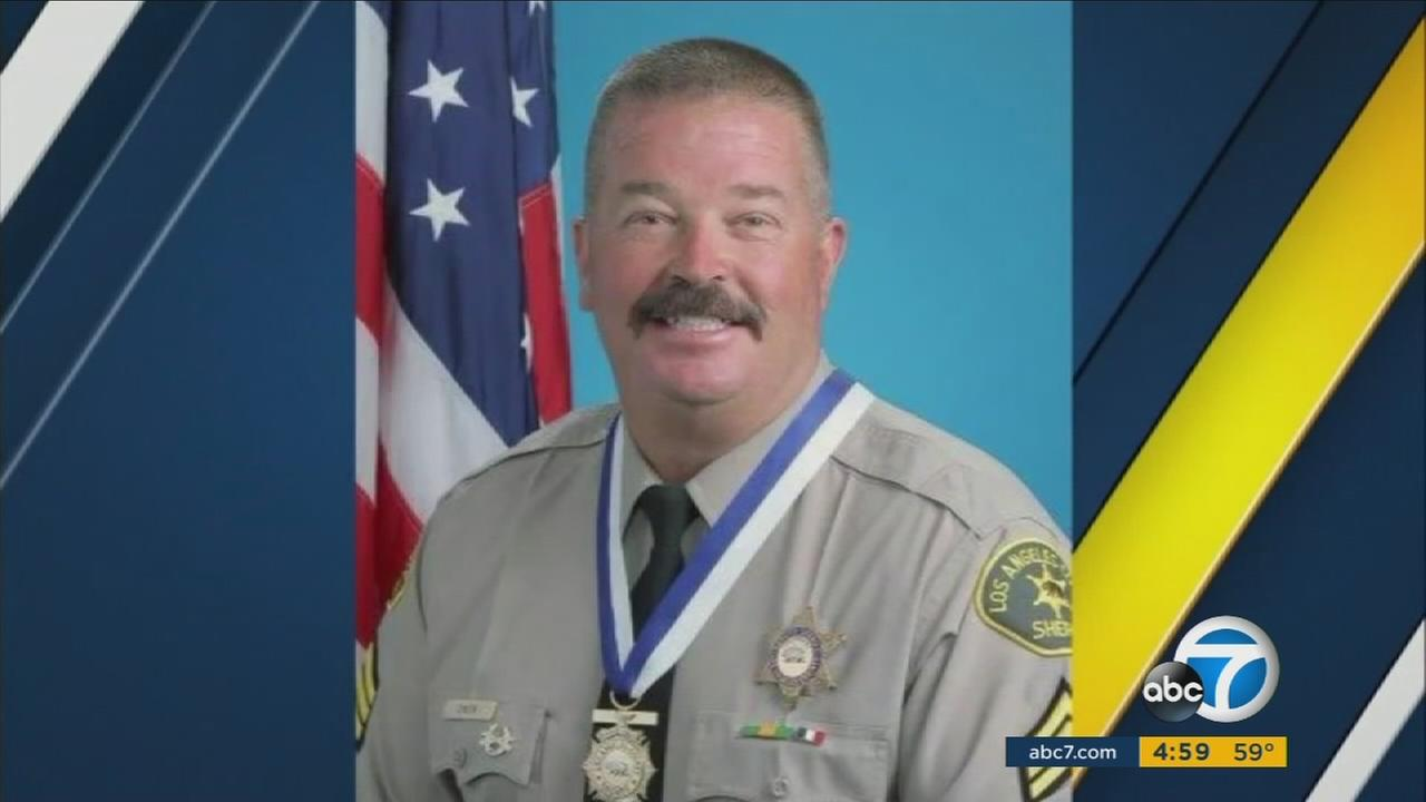 Los Angeles County sheriffs Sgt. Steve Owen is shown in an undated photo.