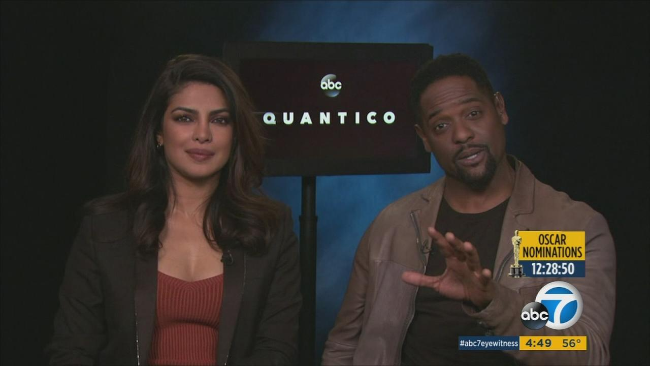 Quantico stars Priyanka Chopra and Blair Underwood talk about the latest drama and mysteries coming up when the show moves to Mondays.