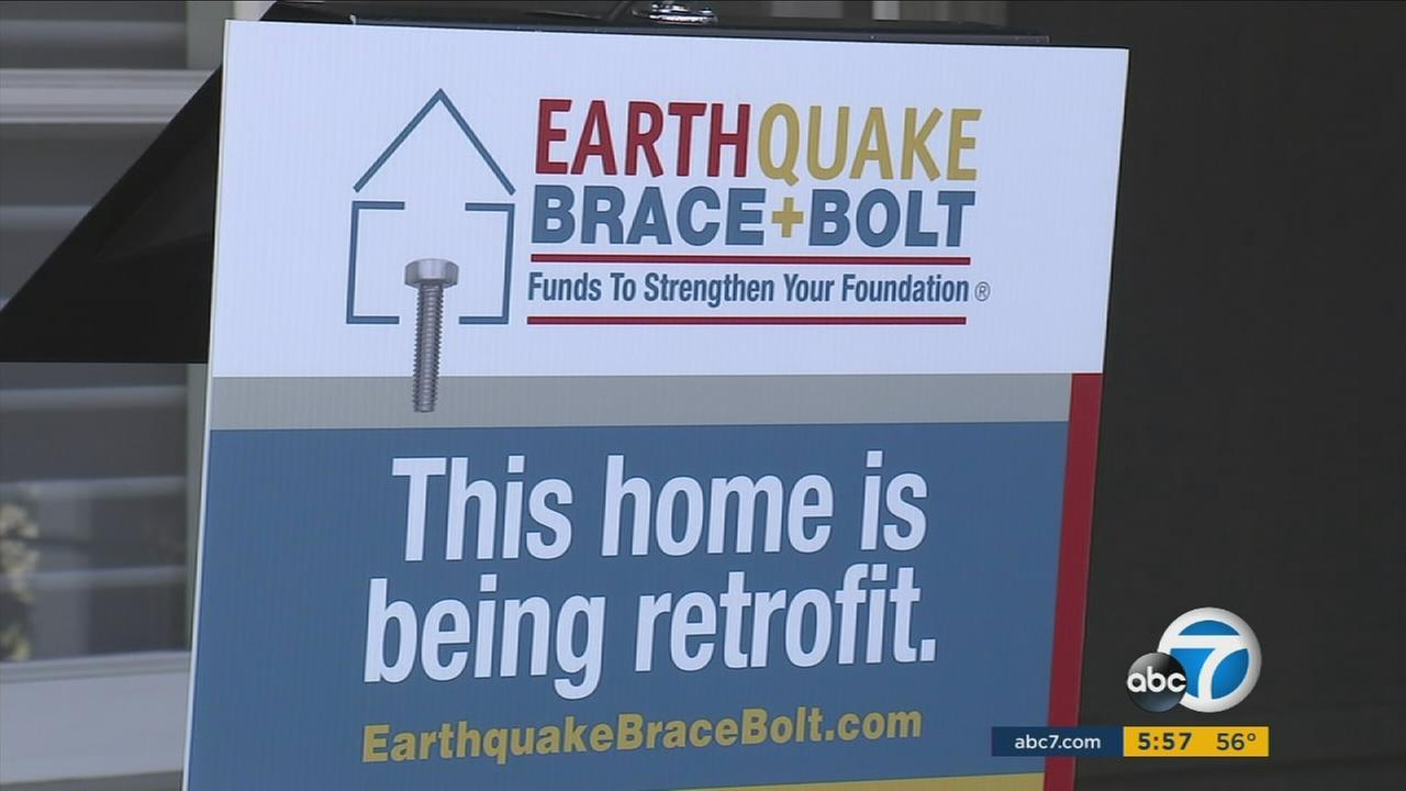 The state is offering homeowners thousands of dollars to help get their homes retrofitted to better withstand earthquakes.