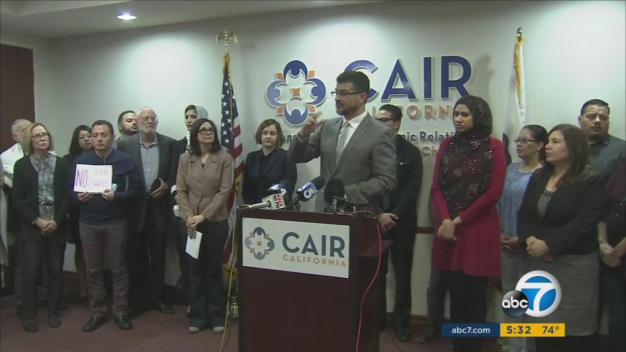 CAIR announced it has filed a lawsuit challenging President Donald Trumps executive order on Monday, Jan. 30, 2017.
