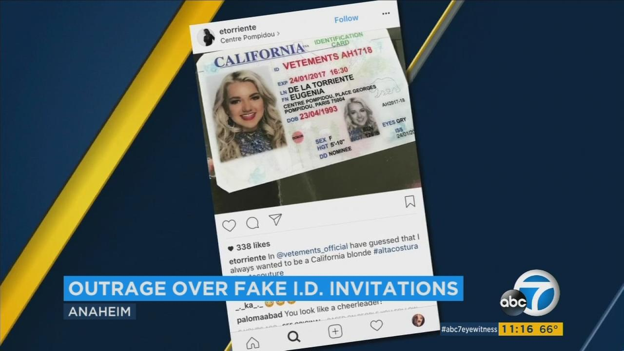Reagan Poltrock, an Orange County beauty queen, was horrified to learn her photo was being used for fake IDs.