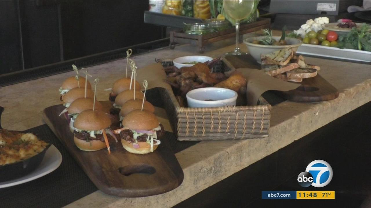 These dishes are some items offered by local restaurants to mark Super Bowl 2017.