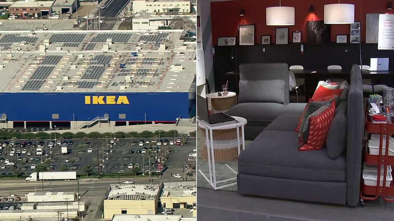 New burbank ikea take a sneak peek at largest ikea in for Ikea in orange county