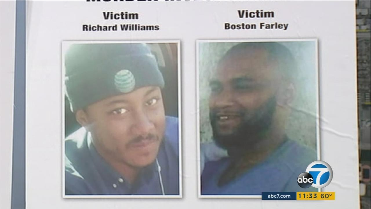 Nine months after the fatal shooting of Richard Williams and Boston Farley in Compton, investigators hope a $20,000 reward may provide new clues.