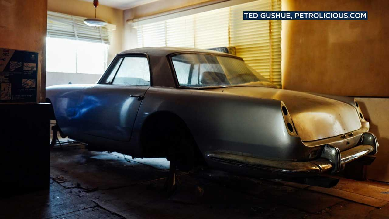 This Ferrari was kept inside its own apartment in Hollywood for decades.