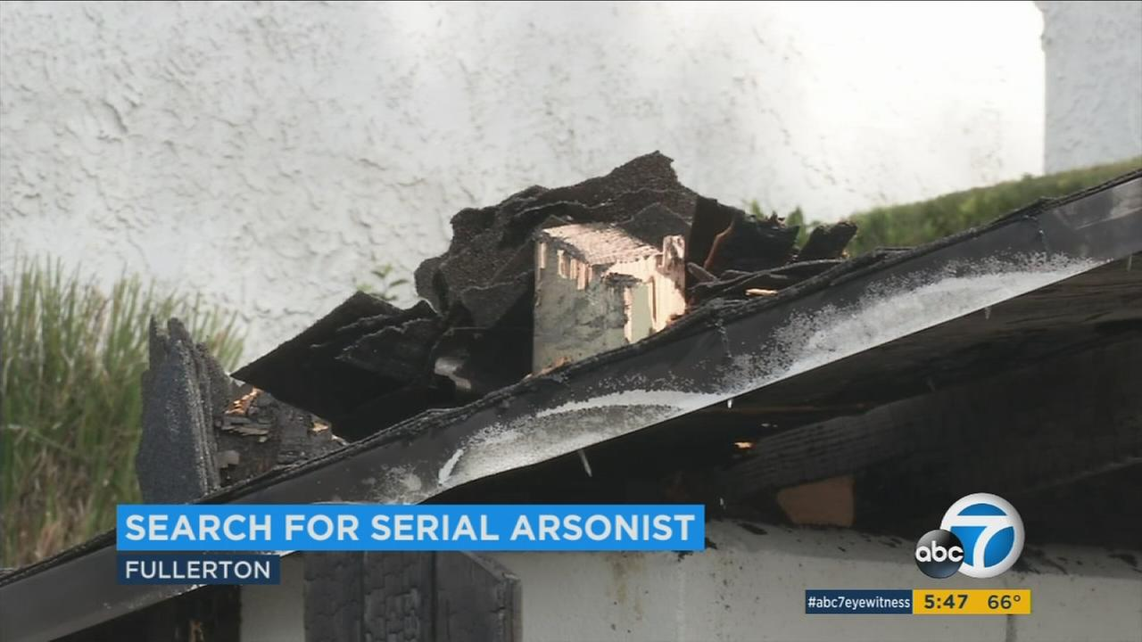 More than 15 fires have been intentionally set in Fullerton over the past five months and all were believed to be related, Fullerton police said.