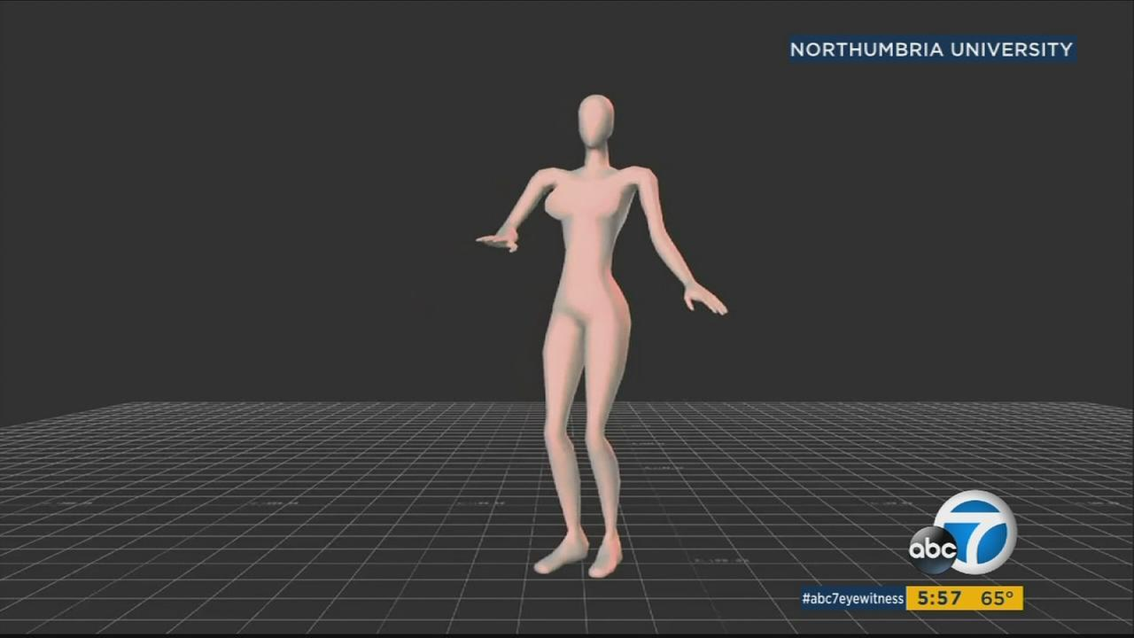 Northumbria University researches looked into the psychology of dance and what moves are considered sexy by using avatars of participants who danced.