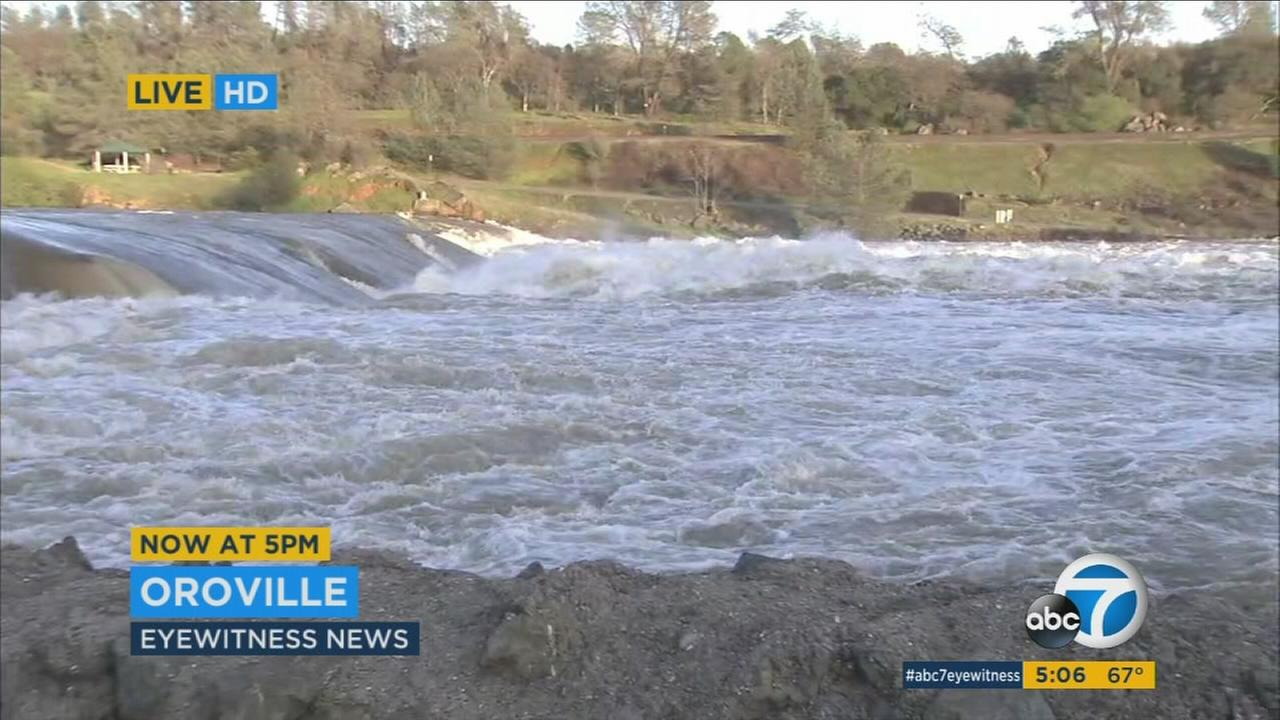 Nearly 200,000 residents were allowed to return to their homes after a mandatory evacuation near the Oroville Dam was lifted on Tuesday, Feb. 14, 2017.