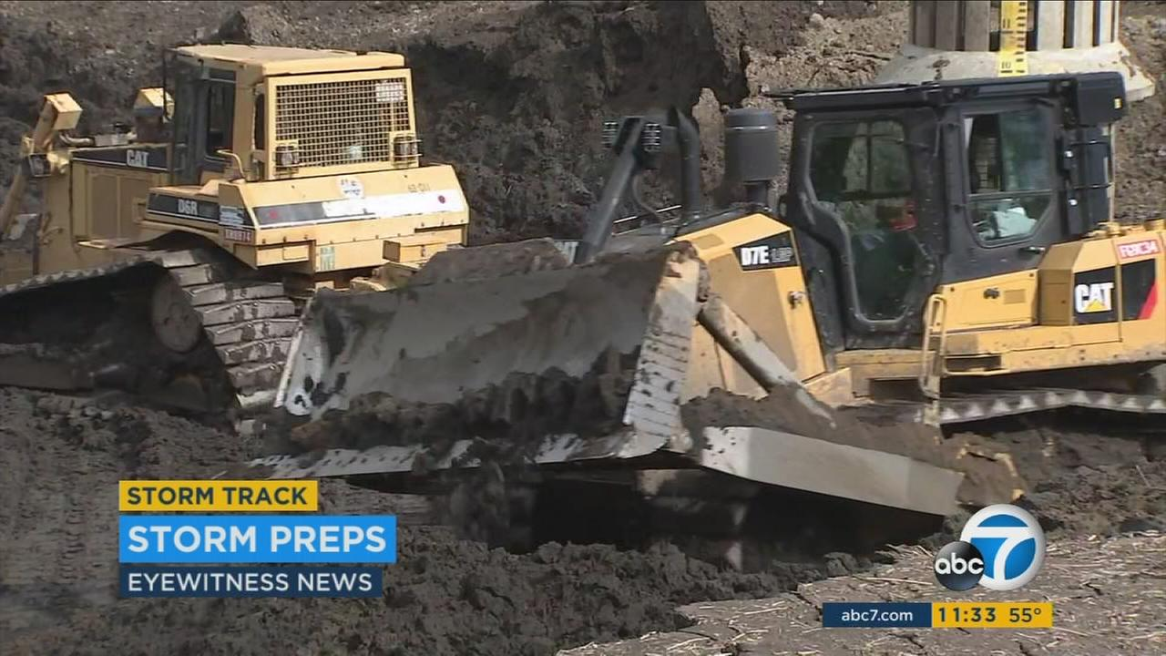 Evacuation orders issued for Duarte as crews prep for monster storm