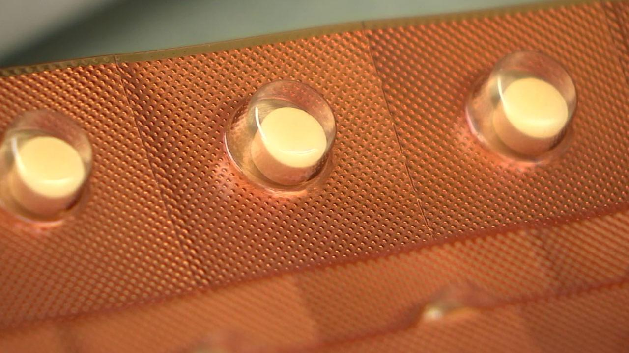 A vitamin D supplement pill is shown in an undated photo.