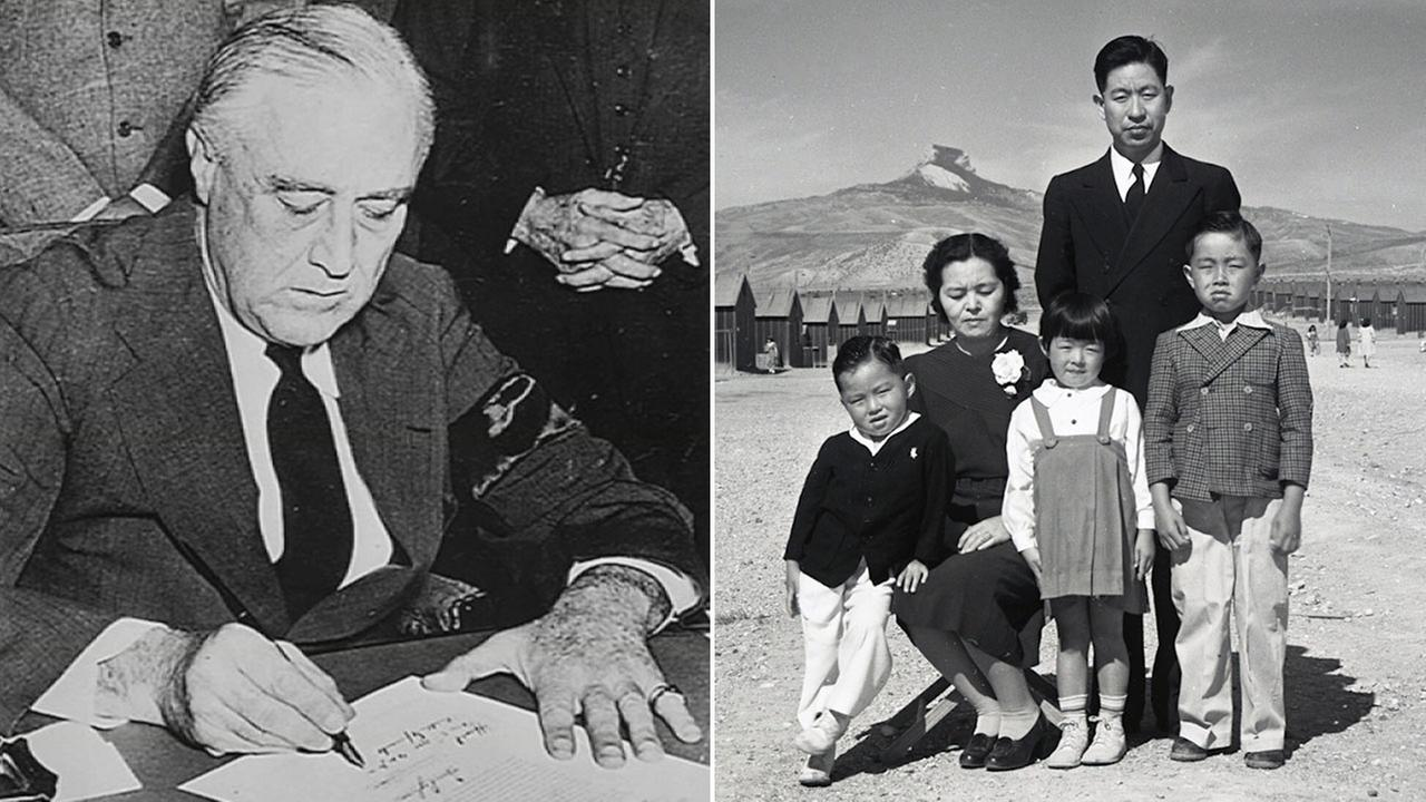 Sunday marks the 75th anniversary of Executive Order 9066, which forced more than 100,000 Japanese Americans into interment camps.