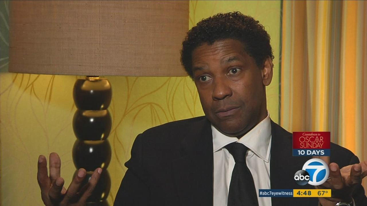 Two-time Academy Award Winner Denzel Washington looks to earn two additional Oscars at the Feb. 26 ceremony.