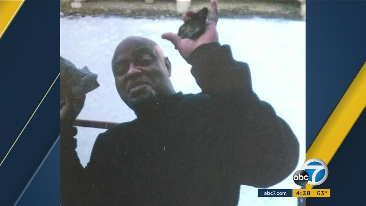 Michael Williams is seen in a photo posted on a GoFundMe page after his death in Victorville.