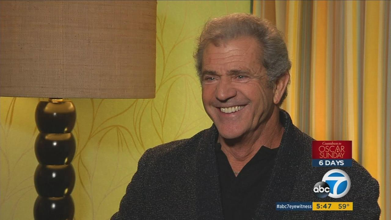 'Hacksaw Ridge' earns Mel Gibson 1st Oscar nomination in 21 years