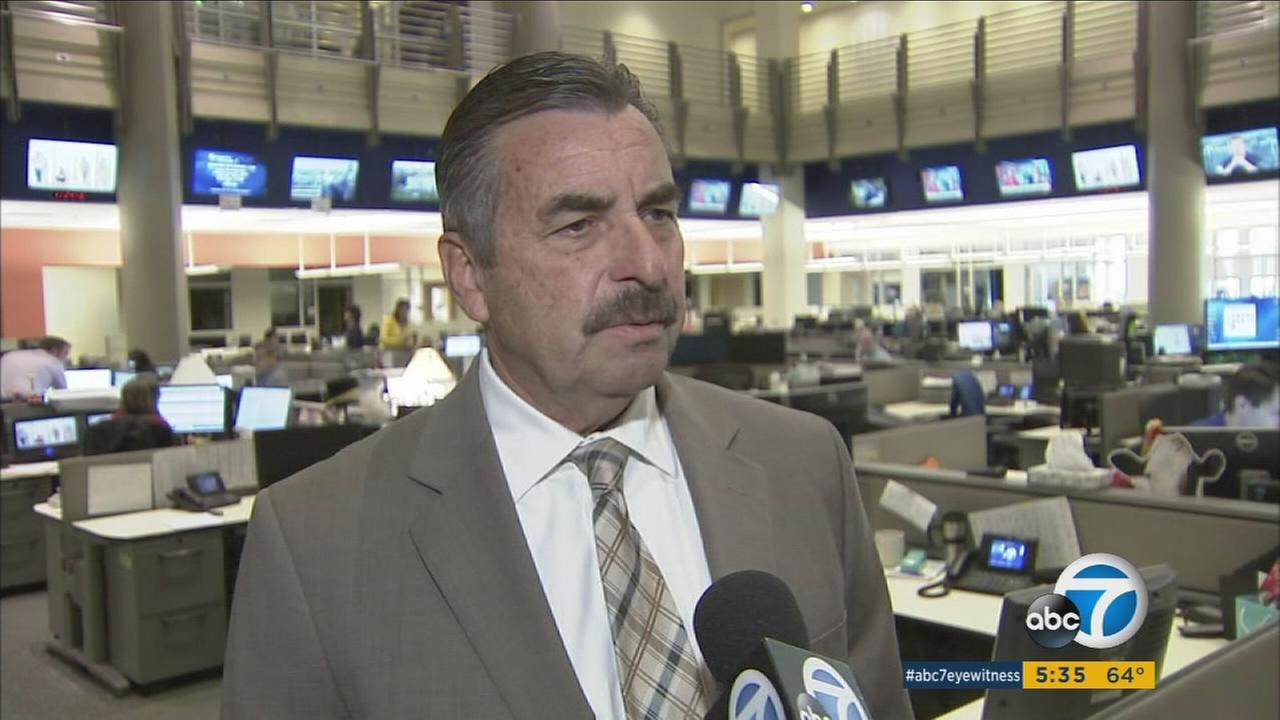 LAPD Chief Charlie Beck is seeking to reassure undocumented immigrants who have increased fear of deportation.