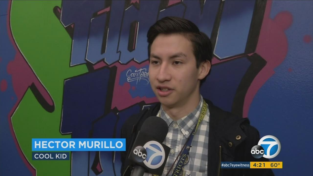 This weeks ABC7 Cool Kid is Hector Murillo, who advocates on behalf of the student body and faculty of his school.
