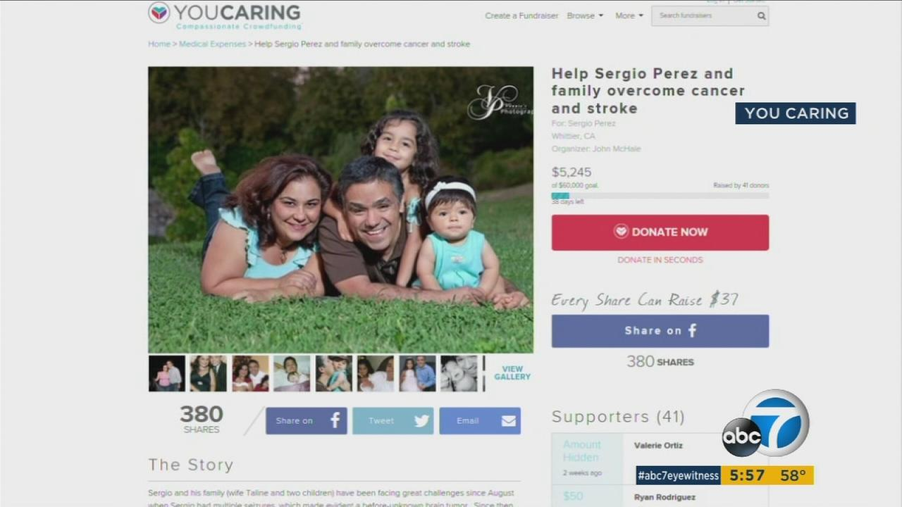 A beloved teacher in Whittier receives multiple donations from the community as he battles with cancer.