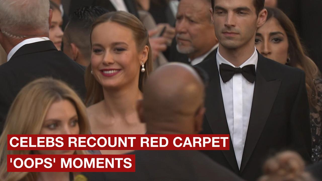 These stars hilariously prove that things dont always go right on the red carpet.