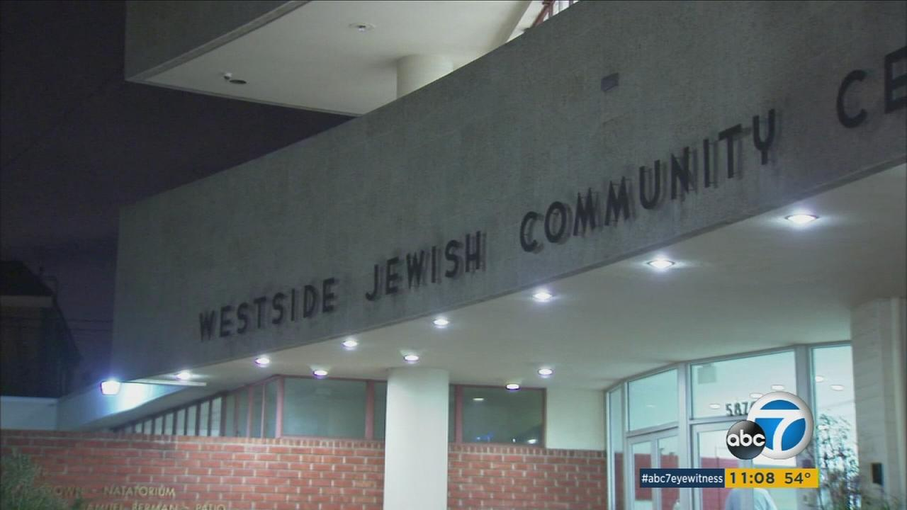 The Westside Jewish Community Center in Los Angeles is shown on Monday, Feb. 27, 2017.